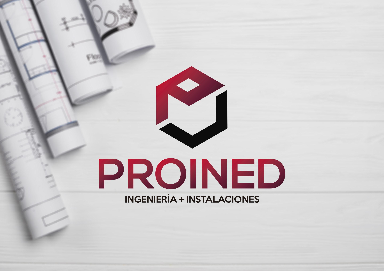 Logotipo para PROINED Ingeniería & Instalaciones