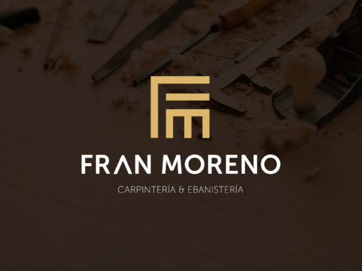 Logotipo para Fran Moreno Carpintería & Ebanistería