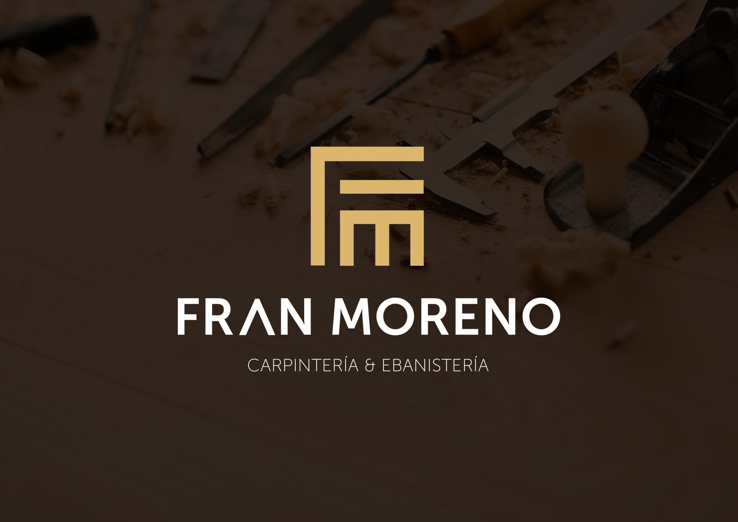 Identidad Visual 1 Logotipo para Fran Moreno