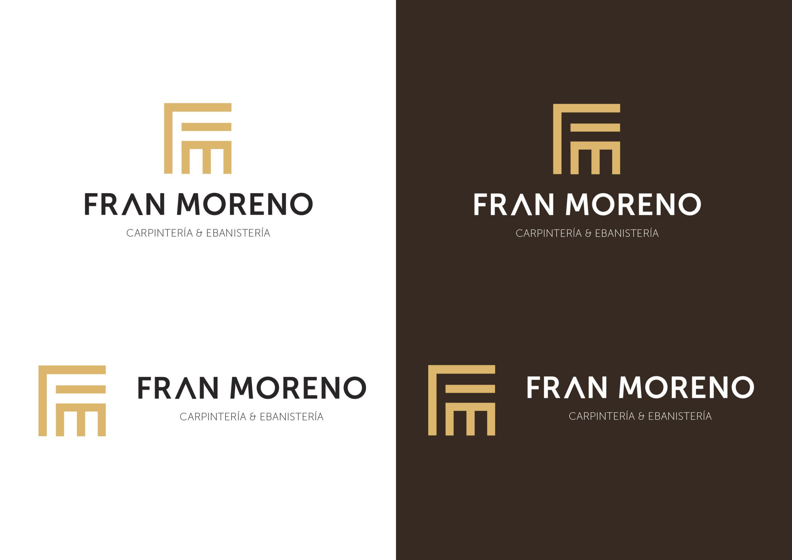 Identidad Visual 2 Logotipo para Fran Moreno