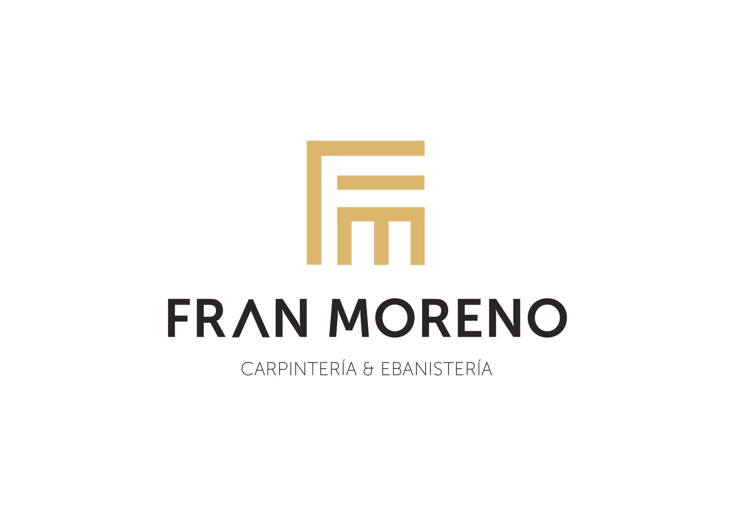 Identidad Visual 3 Logotipo para Fran Moreno